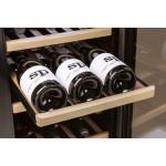 Vinoteca 75 botellas WineSafe 75 Caso Design bandejas