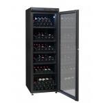 Vinoteca de envejecimiento 264 botellas CVV265B abierta llena