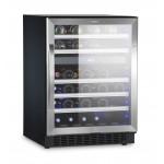 Vinoteca 62 botellas Dometic S46G encastrable doble temperatura lateral