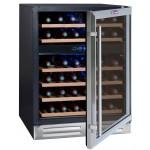Vinoteca encastrable 45 botellas La Sommeliere abierta