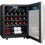 Vinoteca 23 botellas LS24A  La Sommeliere abierta llena