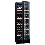 Vinoteca La Sommelière 195 botellas VIP195N lateral abierta