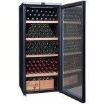 Vinoteca 265 botellas La Sommeliere VIP265V abierta llena