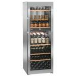 Vinoteca Liebherr WTPES5972 2 Zonas Inox 155 Botellas cerrada