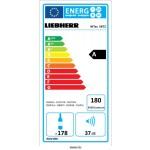 Vinoteca Liebherr WTES5872 3 Zonas Inox 178 Botellas eficiencia energetica