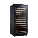 Vinoteca Vinobox 110 botellas 110GC 1T Negro lateral cerrada nueva