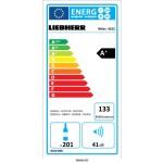 Vinoteca Liebherr WKES4552 1 Zona Inox 201 Botellas abierta eficiencia