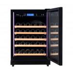 vinoteca pevino 46 botellas p46s-hhb negro abierta