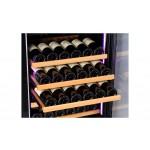 vinoteca pevino 46 botellas p46s-hhb negro detalle