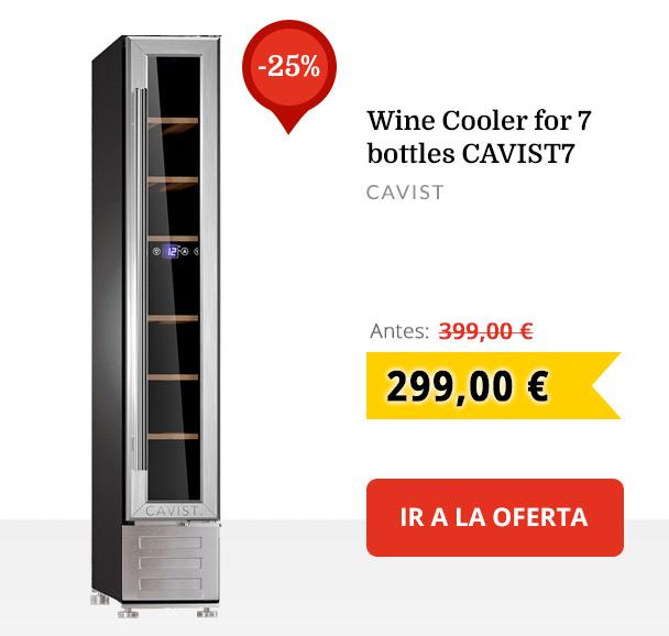 Wine Cooler for 7 bottles CAVIST7