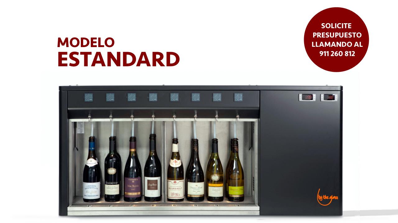 dispensador de vino por copas estandard