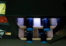 Luz LED sin frecuencia azul