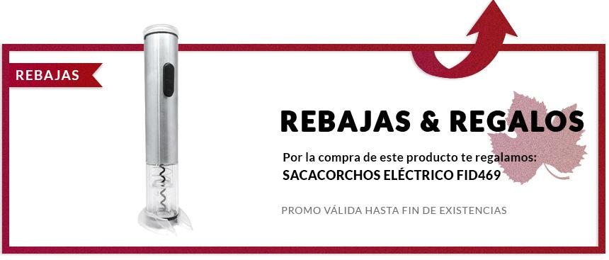 vinoteca sacacorchos electrico fid469 regalo