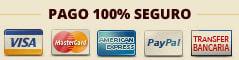 tarjetas y formas de pago