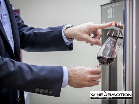 wineenmotion wine dispenser the brand